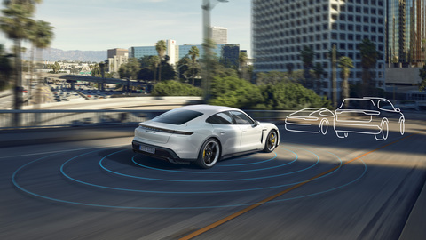 Porsche Vehicle Tracking System / (Plus)